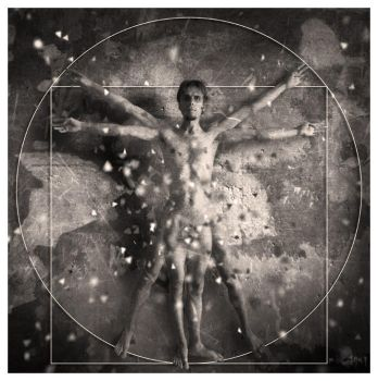 Vitruvian man by adnrey