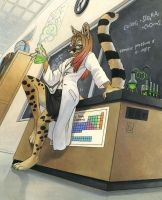 Genet Scientist by KaceyM