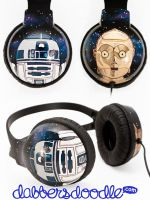 Star Wars Headphones by DablurArt