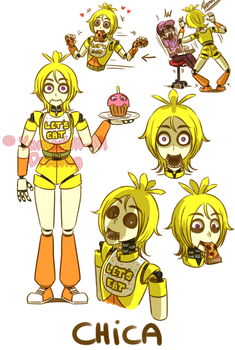 [FNAF HUMAN VERSION]  Chica by YumeChii-NI