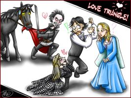 Love Triangle by MissusPatches
