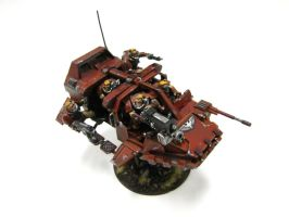 Blood Angels Scout Band Wagon by goofeegrins