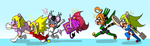 Rubber Mice VS Elastic Cats! by Dlrowdog! by BalloonPrincess