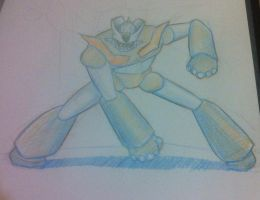 another Mazinger concept by cibersan