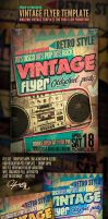 Vintage Flyer Template by yAniv-k