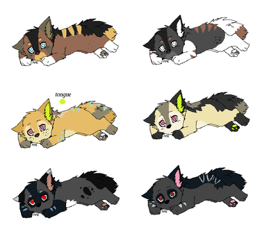 Pup Litter 20 by LizzysAdopts
