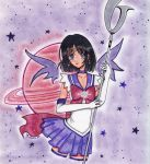 sailor saturn by aliza-chan