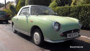 1990 Nissan Figaro by The-Transport-Guild
