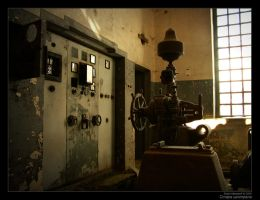 Old hydroelectric PowerStation by cybo-amiga