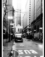 Chicago crosswalk by ccdrums30
