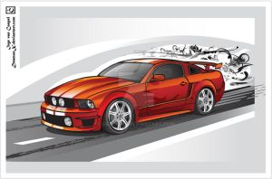 Ford Shelby WCC Mustang by DeamonX