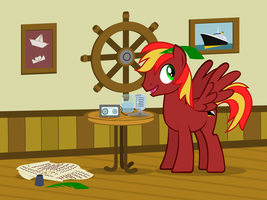 The Ship Maker by MisterAibo