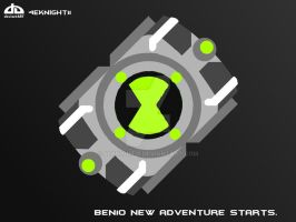 Ben 10 Omnitrix by 4eknight11