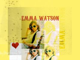 Emma Watson Wallpaper by catecatti