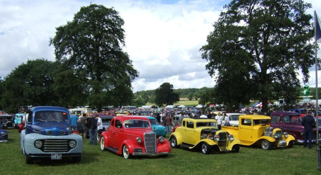 hot rod show   old Walden, line up by Sceptre63