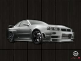 Nissan Skyline GT-R by NoLiMiT3d