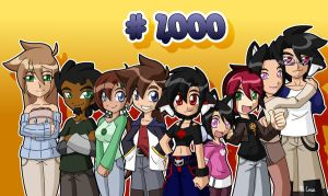 My 1000th DA pic by rongs1234