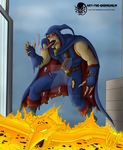 Art-Trade- Marvel Demogoblin by The-GreenGoblin