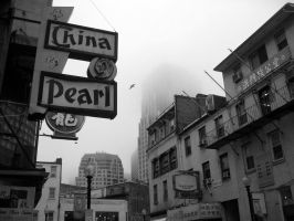 Chinatown, Boston, 2006 by mikeyleemann