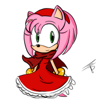 Amy with a cape by EdoBean