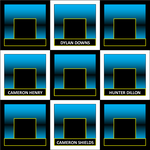 Hollywood Squares Grid #2 by LeafMan813