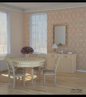 Dining room by Nadia-design