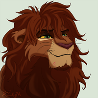 Kovu and Kiara son by X-Zelfa