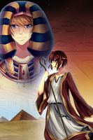 No Homo! Ancient Egypt AU by LemonPoppySeedMuffin