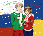 Happy New Year, Russians and Ukrainians! by Vera-chan15