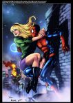 Spider Man And Gwen Stacy by diabolumberto