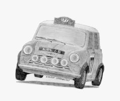 Mini Cooper Rally '67 by Lew-GTR