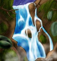 Waterfall by InsomniacLite