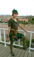 Peter Pan Costume by colormecrazi