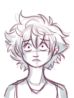 Killua, shocked by solarseptum