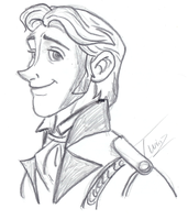 Hans - Sketch - Collab by WitchyTwinzy