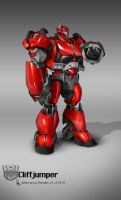 TF Cliffjumper ColorDesign  by AugustoBarranco