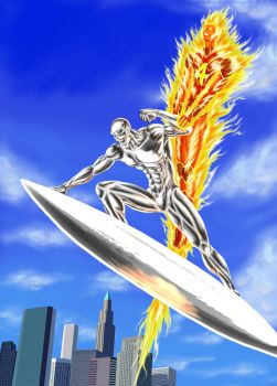Rise of the Silver Surfer by nineknives