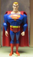 The Ugly Superman by monitor-earthprime