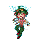 Chibi!Yuya by Ghost-Occult