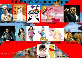 My Anti-Pooh's Adventures Squad (ML-93 Way) by MariposaLass-93