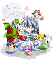 Merry Christmas 2008 by hinata-hime