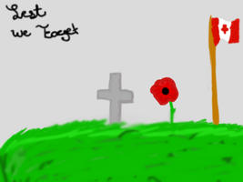 Lest We Forget by Japanzii