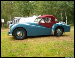 Old Cars: I. Blue Triumph by Uttermost