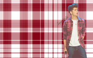 Zayn Plaid Wallpaper 7 by iluvlouis