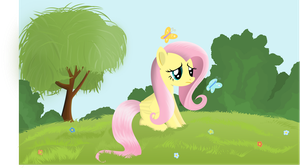 Why so sad, Fluttershy? by tgolyi