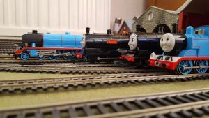 The engines took great delight in teasing Gordon. by dcg12b