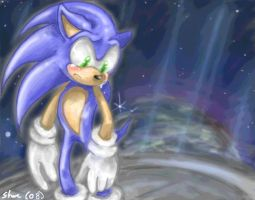 Sonic crys for shadow by f-sonic