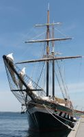 Tall Ship Fair Jeanne by TheBrassGlass