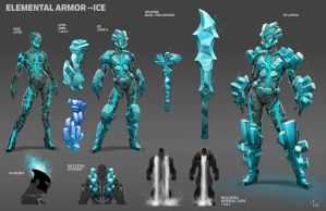 Elemental Armor--ICE by DNA-1
