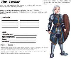 Avatar Sheet Prototype - The Tanker by Thrythlind